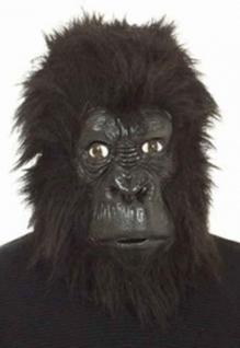 Maske Gorilla Gorillamaske Maske Affe Affenmaske