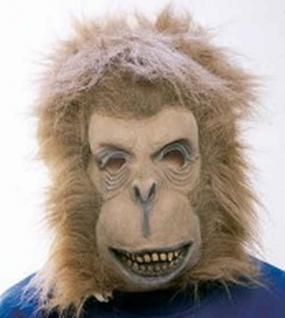 Affenmaske Maske Affe Maske Kostüm Affe Affenkostüm