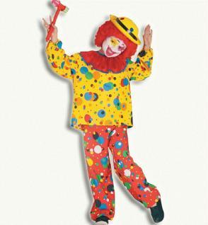 """Clown """" Jupp """" 2-teilig Clownkostüm Karneval Kostüm Clown Clownkostüm"""