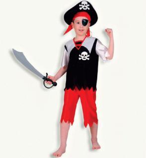 Piratenkostüm Pirat Jackie für Kinder