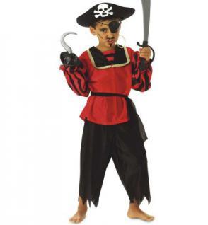 Kostüm Pirat Piratenkostüm SONDERPREIS Kinderkostüm Pirat Seeräuber Kapitän Kinder