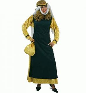 Kostüm Hilda v. Fastnacht Hofdame Burgdame Mittelalterkostüm Kostüm Mittelalter Magd Zofe - Vorschau 1
