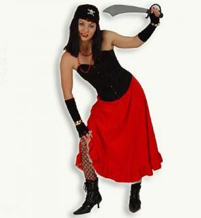 Rock Esmeralda Pirat Piratin Kostüm Pirat Piratenkostüm Kostüm Piratin - Vorschau 1