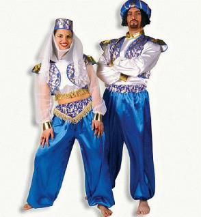 Kostüm Leila Harem Orient Haremsdame - Vorschau 1