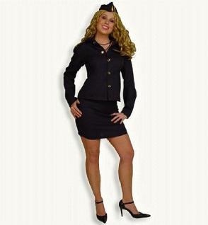 Kostüm Stewardess 2-tlg.Stewardesskostüm