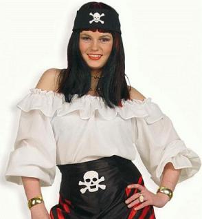 Bluse Pirat Piratenbluse Piratin Kostüm Piratenhemd