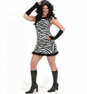 Kleid Zebra Zebra Kostüm Zebrakostüm