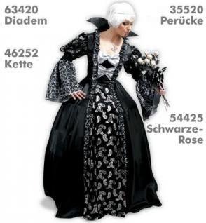 Kostüm Dark Princess Gothic Barock Mittelalter
