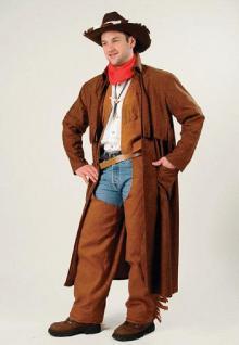 Cowboy Mantel Karneval Halloween Fasnet