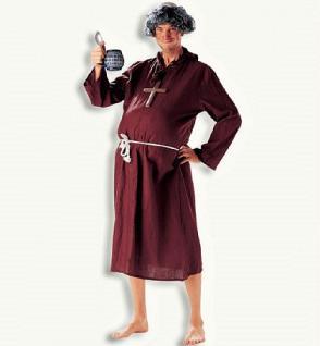 Kostüm Kutte Bruder Ambrosius Mönch Mönchskostüm Mönchskutte Mönchkostüm Mönchkutte