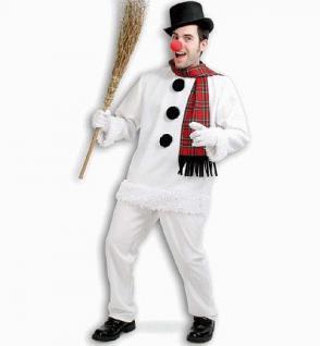 Kostüm Schneemann Schneemannkostüm Erwachsene - Vorschau 1