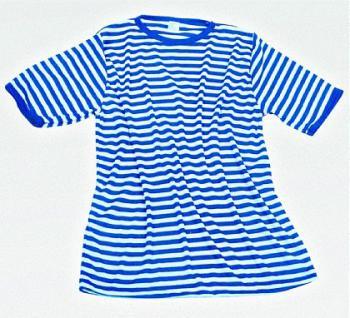 Ringelshirt T-Shirt blau-weiß Ringel Shirt