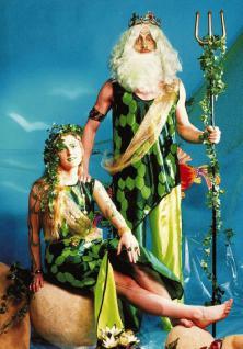 Kostüm Neptun Wassermann - Vorschau 1