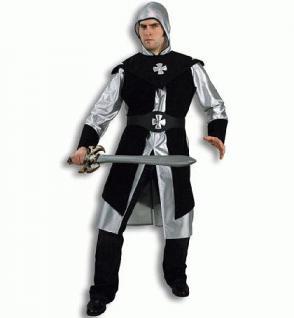 Kostüm Schwarzer Ritter Ritterkostüm Kostüm Ritter - Vorschau 1