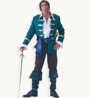 Piratenkostüm Seeräuberkostüm Kostüm Seeräuber Kostüm Pirat Francis 2-teilig mit Schärpe - Vorschau