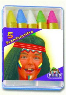 5 Schminkstifte