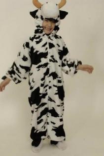 Overall Kuh Kostüm Kuhkostüm Kinderkostüm Kuh Ochse Kostüm Kuh - Vorschau 1