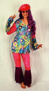 Kostüm Samt - Hippie - Lady Hippiekostüm - Vorschau