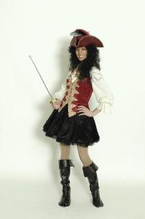 Kostüm Deluxe Piratin Pirat Piratenkostüm - Vorschau 1