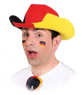 Hut Deutschland Cowboyhut Deutschland Deutschlandhut SONDERPREIS Fan Hut Deutschland Mütze Deutschland
