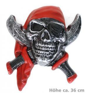 Piratendeko Deko Pirat Wanddeko Dekoration Piraten Pirat Kostüm Pirat Piratenkostüm Totenkopf - Vorschau