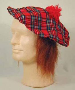 Hut Schotte Mütze Schottenmütze Schottenhut Mütze Highlander Mütze Schotte