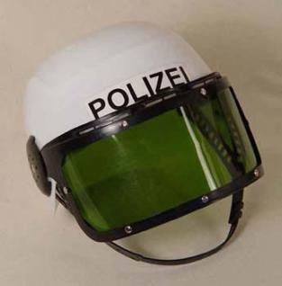 Polizei Helm mit beweglichem Visier Polizeihelm - Vorschau