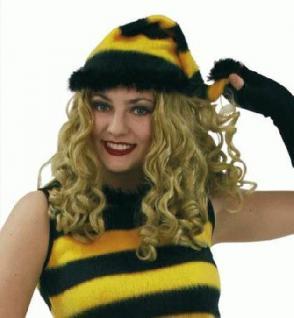 Zipfelmütze Biene Mütze Biene Bienemütze Kostüm Biene Bienenkostüm