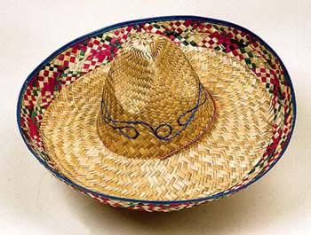 Sombrero Hut natur SONDERPREIS Mexikaner Hut Mexico Mexikanerhut Made in Mexico