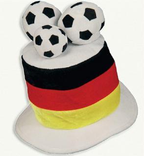 """Hut """" Deutschland """" mit Fußbällen - Vorschau"""