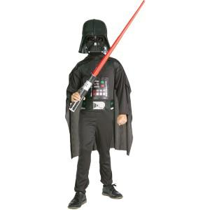 Darth Vader Set Kinder Star Wars Kostüm Krieg der Sterne Kinder Kinderkostüm Darth Vader