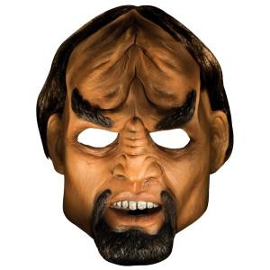 Star Trek Worf Deluxe Original Latex Maske Kostüm Star Trek Kostüm Star Trek - Vorschau