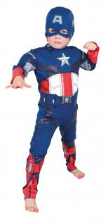 Kostüm Captain America Kinder Kinderkostüm