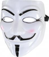 Maske mit Bart