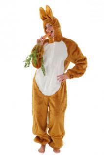Overall Hase braun Kostüm Hase Hasenkostüm