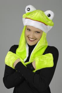 Mütze Frosch Froschmütze Hut Frosch Froschkostüm Kostüm Frosch
