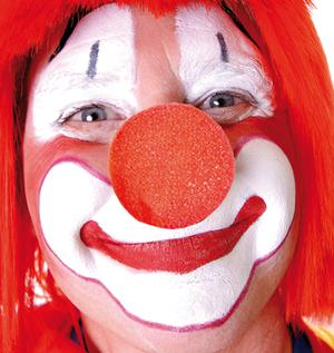 100 Clownnase SONDERPREIS Clownnase Rote Nase Nase Clown red nose rote Nase Schaumstoff