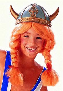 Wikinger Helm Kinder Wikingerhelm mit kleine Hörner Gallierhelm Helm Gallier Kostüm