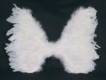 Engelsflügel klein weiß Flügel Engel Christkind - Vorschau