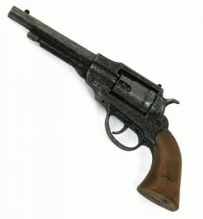 Revolver Pistole Navy Antik Metall 8-Schuss