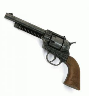 Revolver Pistole Frontier Antik Metall 12-Schuss - Vorschau