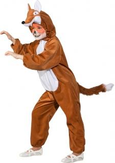 Fuchskostüm Kostüm Fuchs Kinder Kinderkostüm Fuchs Overall Fuchs Fuchsoverall SONDERPREIS