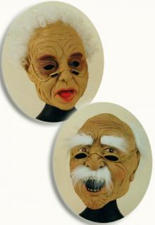 Maske Oma Omamaske Maske alte Frau SONDERPREIS