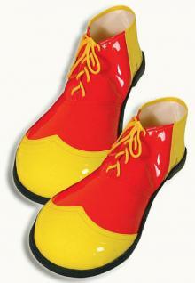 Luxus - Clown - Schuhe Clownschuhe Clownkostüm Kostüm Clown SONDERPREIS