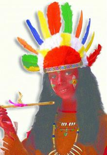Indianer Kopfschmuck klein