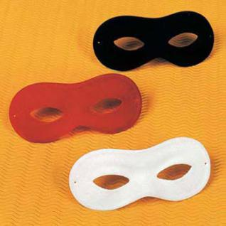 Domino Maske 5 Farben Fasnet Karneval Fasching Dominomaske