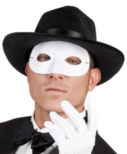 Dominomaske weiss Maske Domino Maske Carnevale Venezia