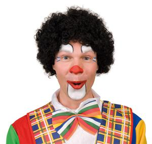Perücke Clown Perücke Clownperücke Hair Clown schwarz Clownperücke Afro Perücke Afroperücke Afro SONDERPREIS