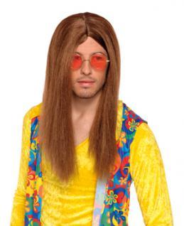 Perücke John HippieSONDERPREIS 70er Flower Power Hippieperücke