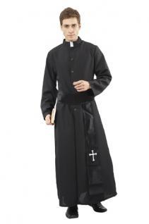 Kostüm Pfarrer Pfarrerkostüm Priesterkostüm Kostüm Priester superluxe Priester Priest Pfarrer SONDERPREIS